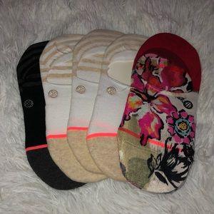 (5) Women's Stance Gamut Super Invisible Socks